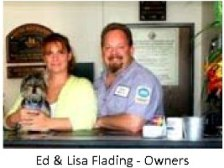 Ed & Lisa Flading - Owners
